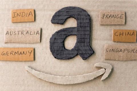 Amazon logo paper