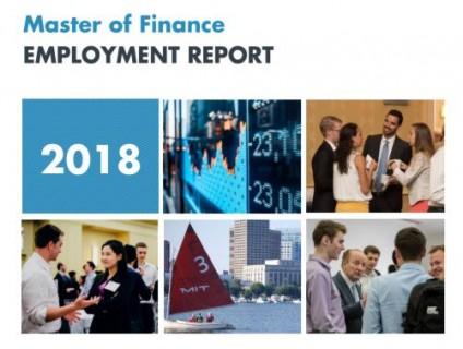MFin 2018 Employment Report