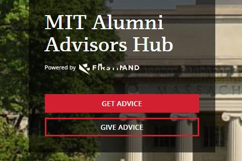 MIT Alumni Advisors Hub