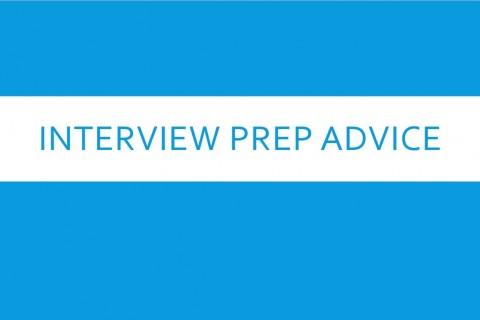 interview prep advice