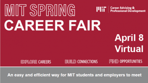 MIT Spring Virtual Career Fair thumbnail image