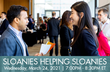 Sloanies Helping Sloanies: Making Career Connections