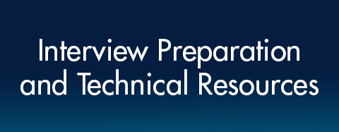 Interview Preparation and Technical Resources