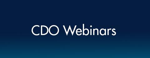 CDO Webinars